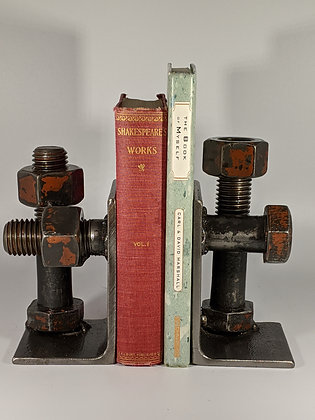 Giant bolt bookends