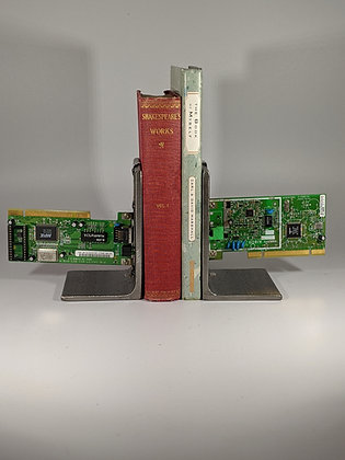 Circuit board bookends