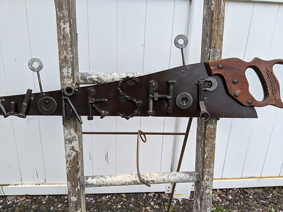 Workshop saw sign