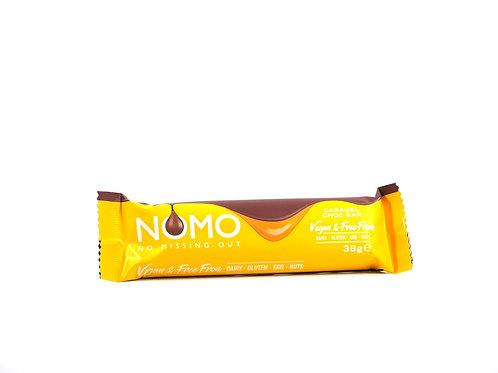 NoMo Caramel Chocolate Bar