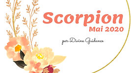 Scorpion_Mai 2020_Horoscope_Tirage_Divin