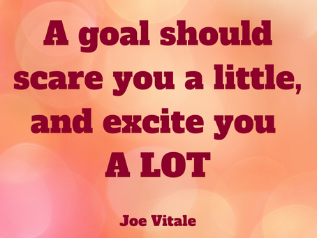 A Fresh Approach to Goal Setting