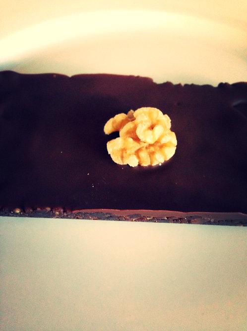 Raw Double Chocolate Brownie (Paleo) 8