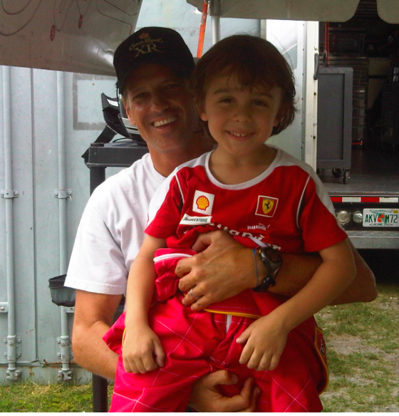 With Oswaldo Negri Jr.