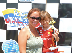 His very first race, age 4 - 2nd PL