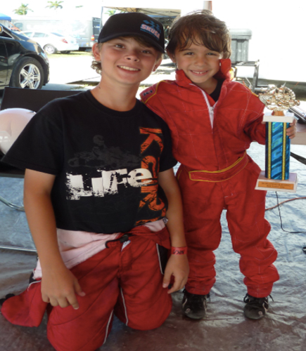 1st Place - Kid Kart - Dec. 4,2011