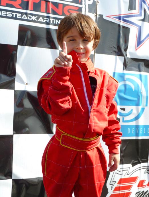 1st Place - Kid Kart - Dec. 4,2011