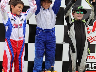 Alesso has an spectacular weekend - still leading the 2014 Rotax Fall Championship
