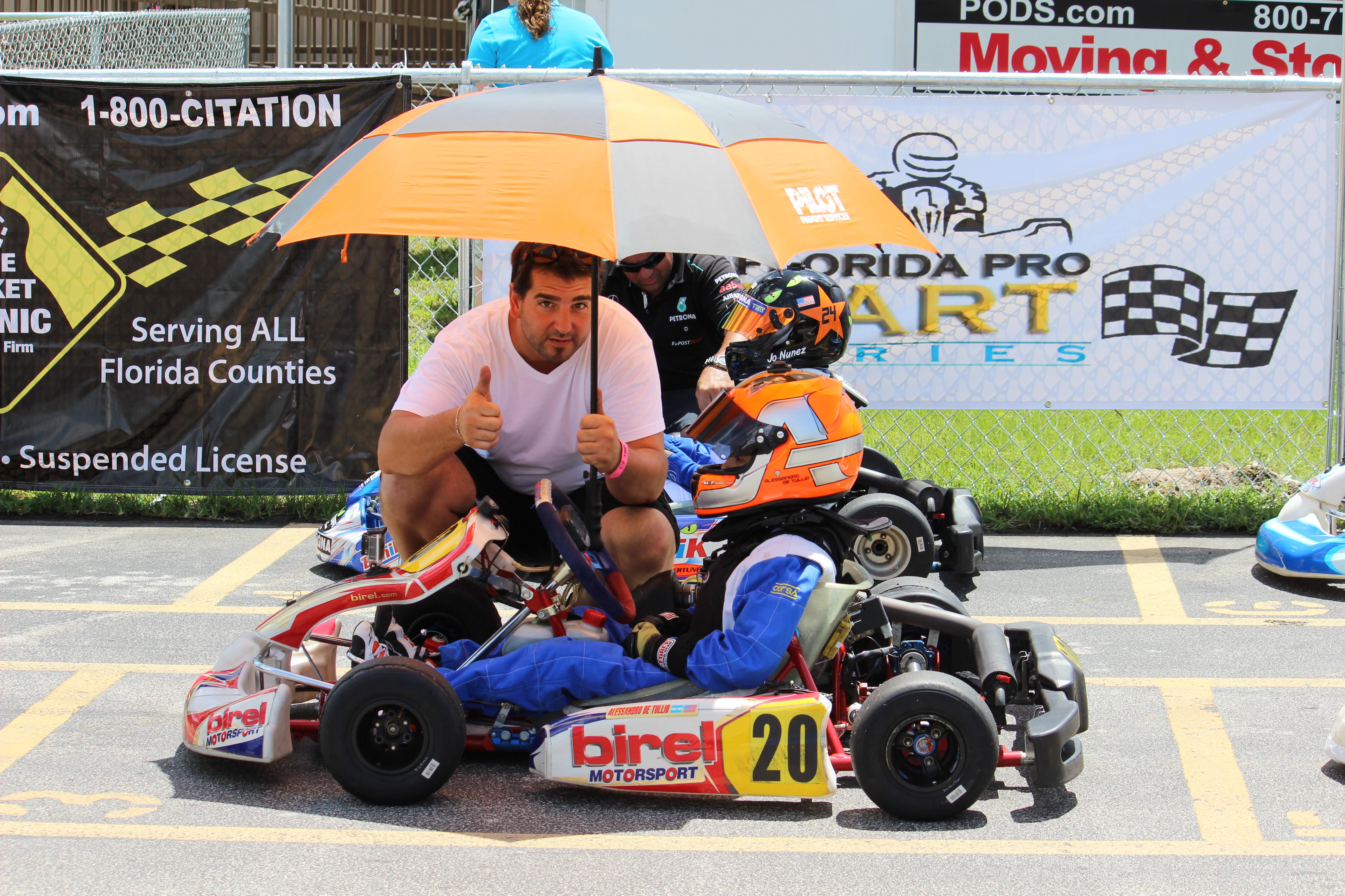 w/Sebastian Ardizzone of SLA Karting