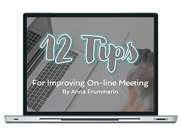 12 Tips For Improving On-line Meeting