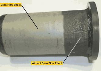 Test Filter of Dean Flow in Diesel Fuel-