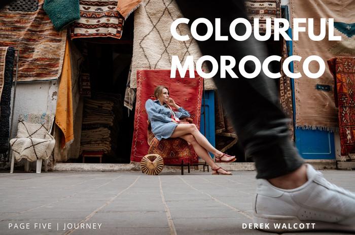 model Morocco fashion make up