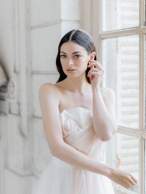natural bridal makeup in Paris
