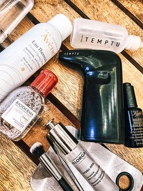 Skincare: Avene, Temptu, Bioderma, Filorga, Kiehl's