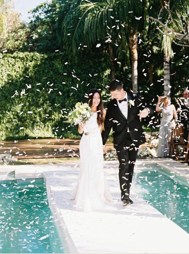 wedding ceremony destination bride