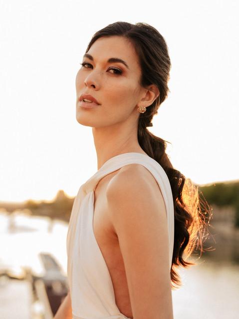 asian bride makeup artist Paris france
