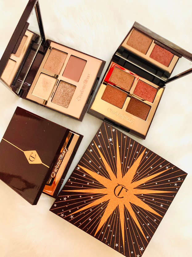 Face and eyes palettes: Charlotte Tilbury