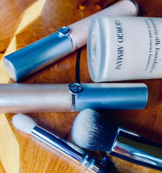 Face and eyes products: Giorgio Armani