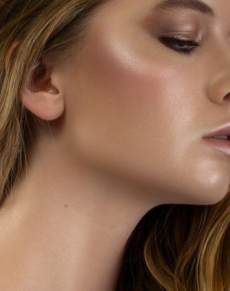 beauty editorial skin glow