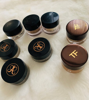 Eyes products: Tom Ford, Inglot, ABH