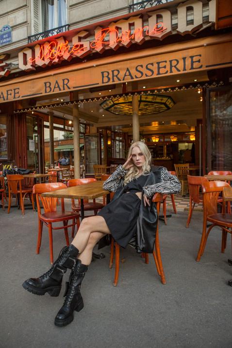 street paris fashion editorial model