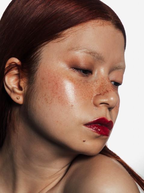 asian makeup editorial