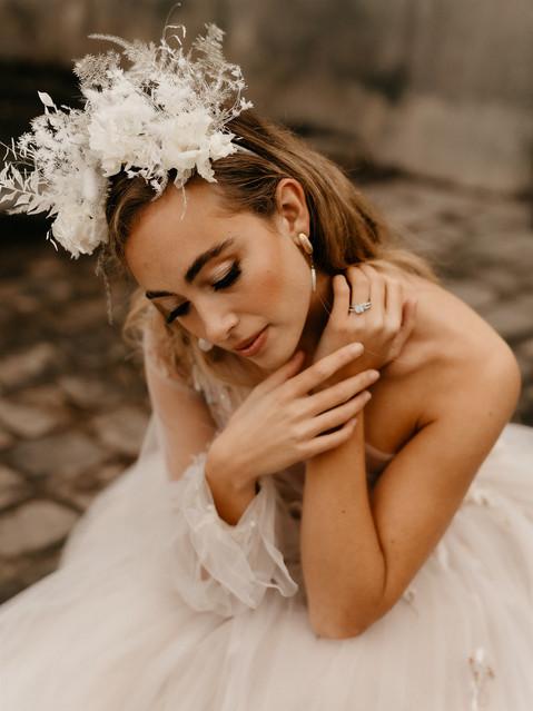 editorial bride natural makeup artist Paris