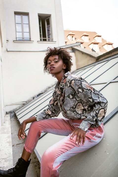 model makeup paris fashion