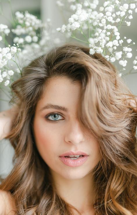 beauty natural model makeup paris