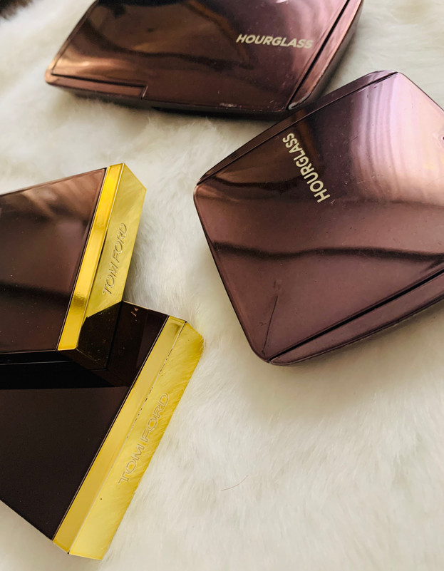 Face products: Hourglass, Tom Ford