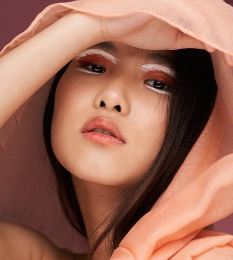 asian editorial makeup artist in Paris
