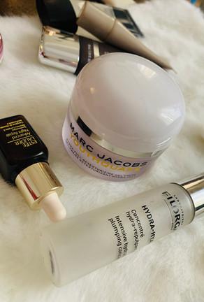 Skincare: Marc Jacobs, Estee Lauder, Becca, Laura Mercier