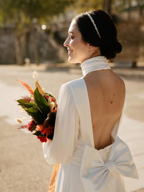 bride makeup hairstyle Paris