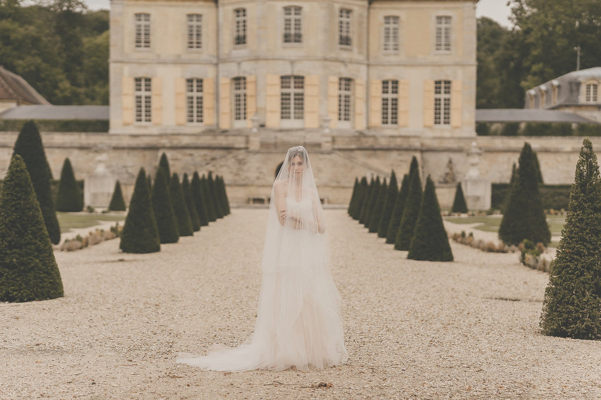 bride, makeup, wedding in france