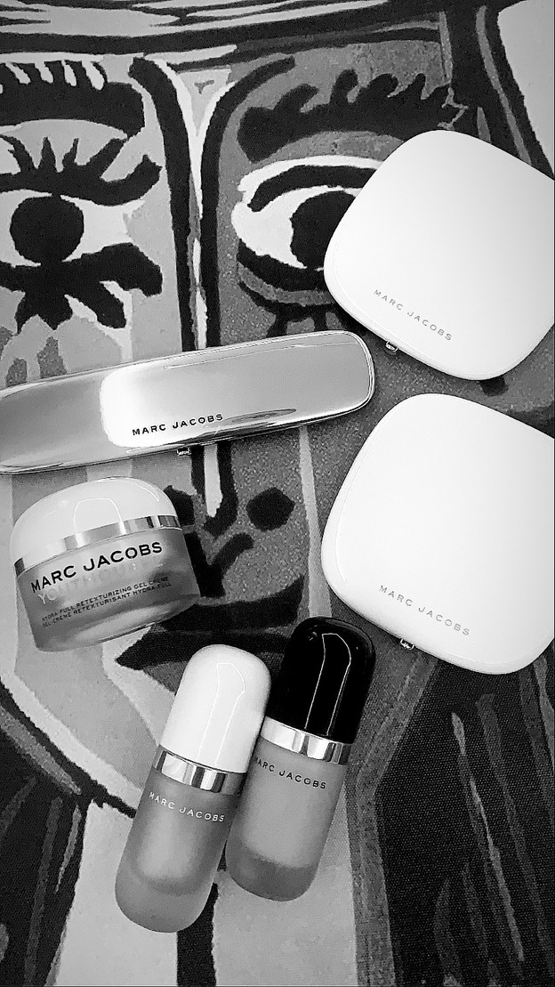 Face and eyes products: Marc Jacobs