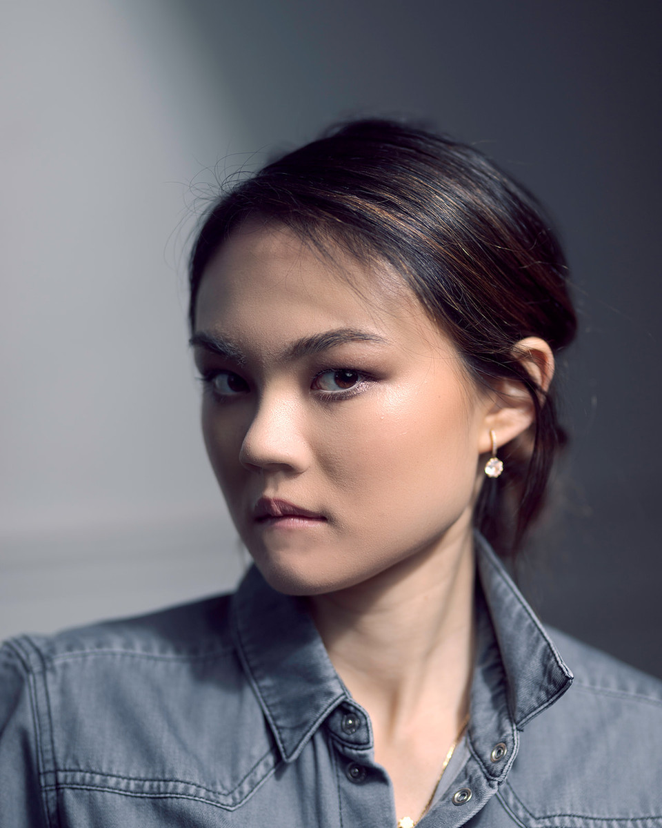 model asian makeup paris