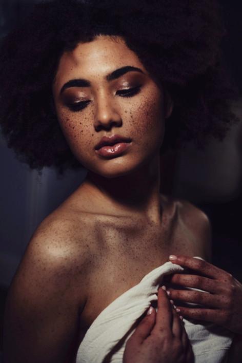 dark skin makeup freekles