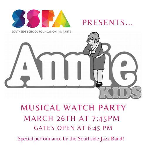 Annie Kids Watch Party!