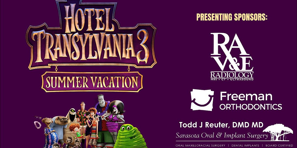Hotel Transylvania 3 - Summer Vacation  Movie on the Lawn