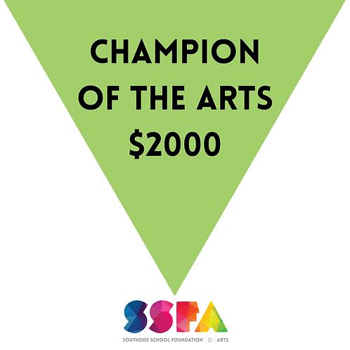 Champion of the Arts