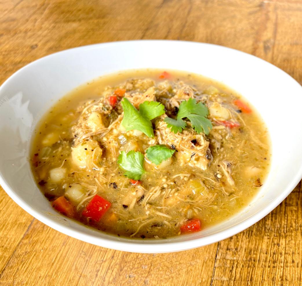 Chicken Verde Stew