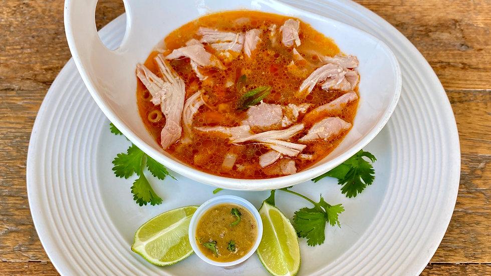 Roxy's Garden Veggie Soup w Chicken