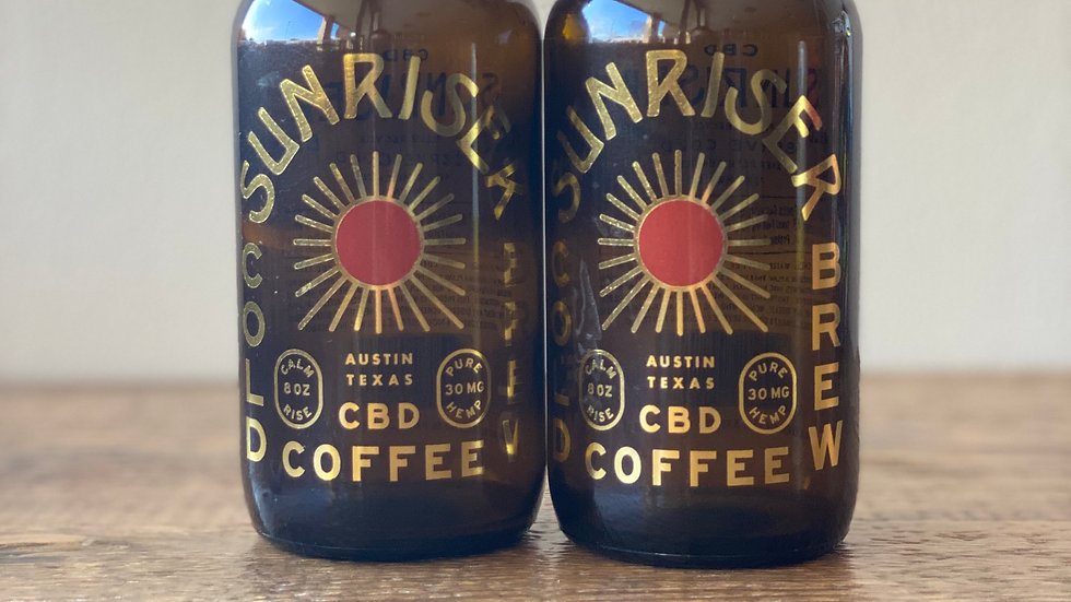 Sunriser CBD Cold Brew Coffee