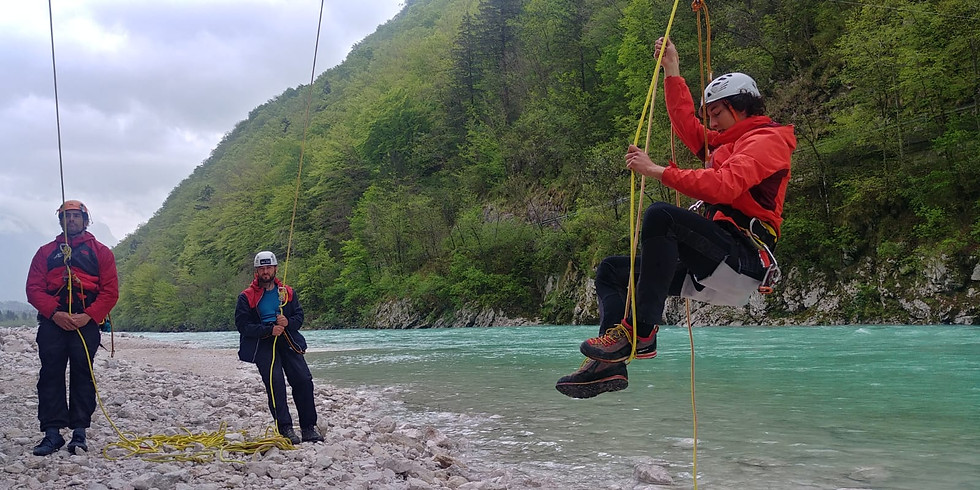 Modul 1+2 - Assistant canyoning guide
