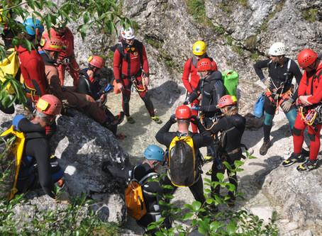 Vaja jamarske reševalne službe v Fratarici