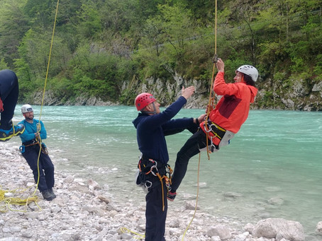 Update training in Bovec