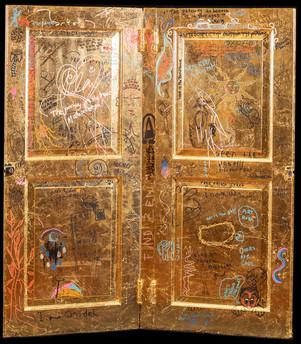 The Montserrat House Door