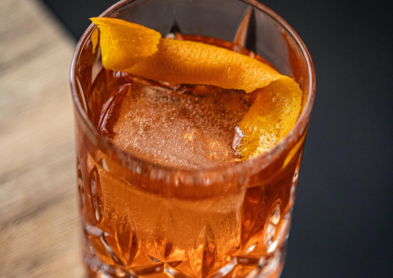 Smoked Aztec Old Fashioned