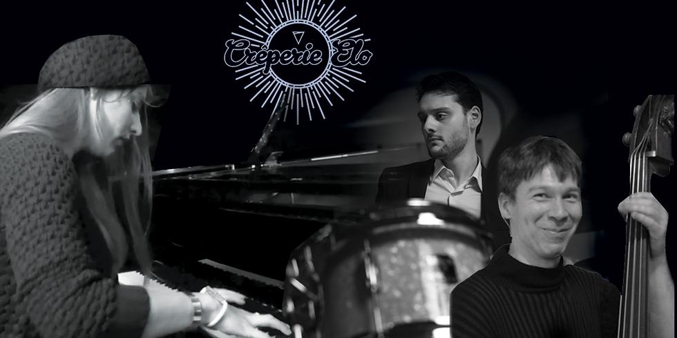 MERCREDI JAZZ avec IFTHA KARY au Piano, ÉRIC WILLOTH à la Contrebasse et GERMAIN CORNET au Drum