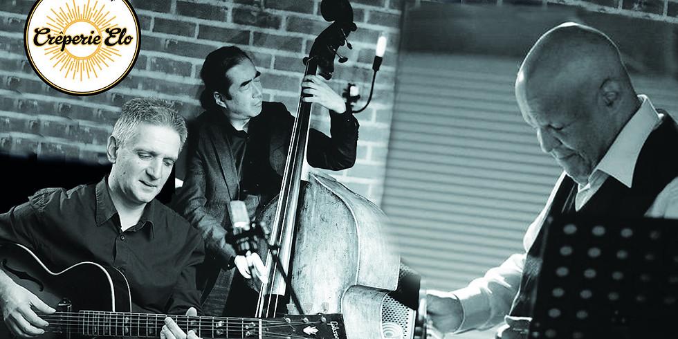 Monday's Elo Jam Session en trio avec Gilles Réa (Guitare)